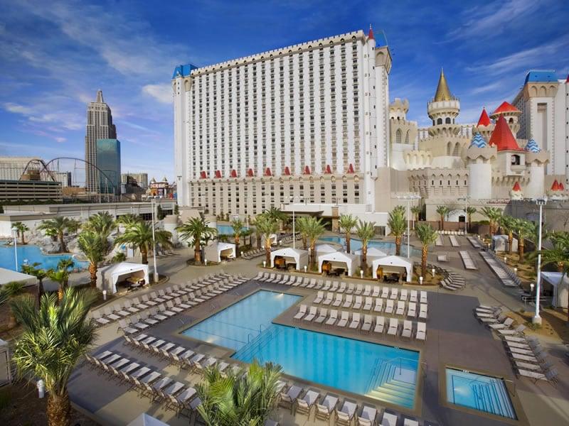 Atrações do hotel Excalibur em Las Vegas