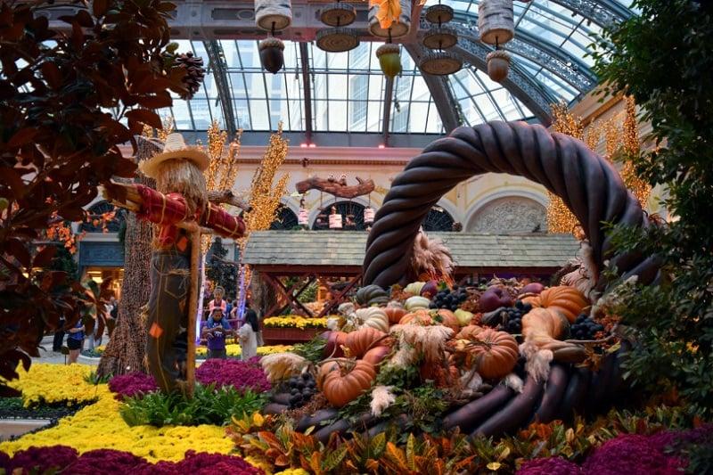 Outono em Las Vegas