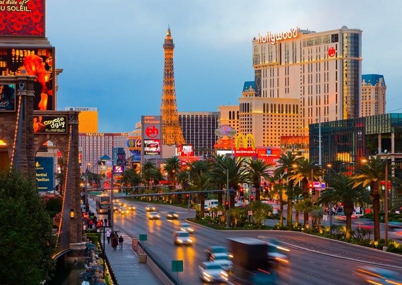 Primavera em Las Vegas