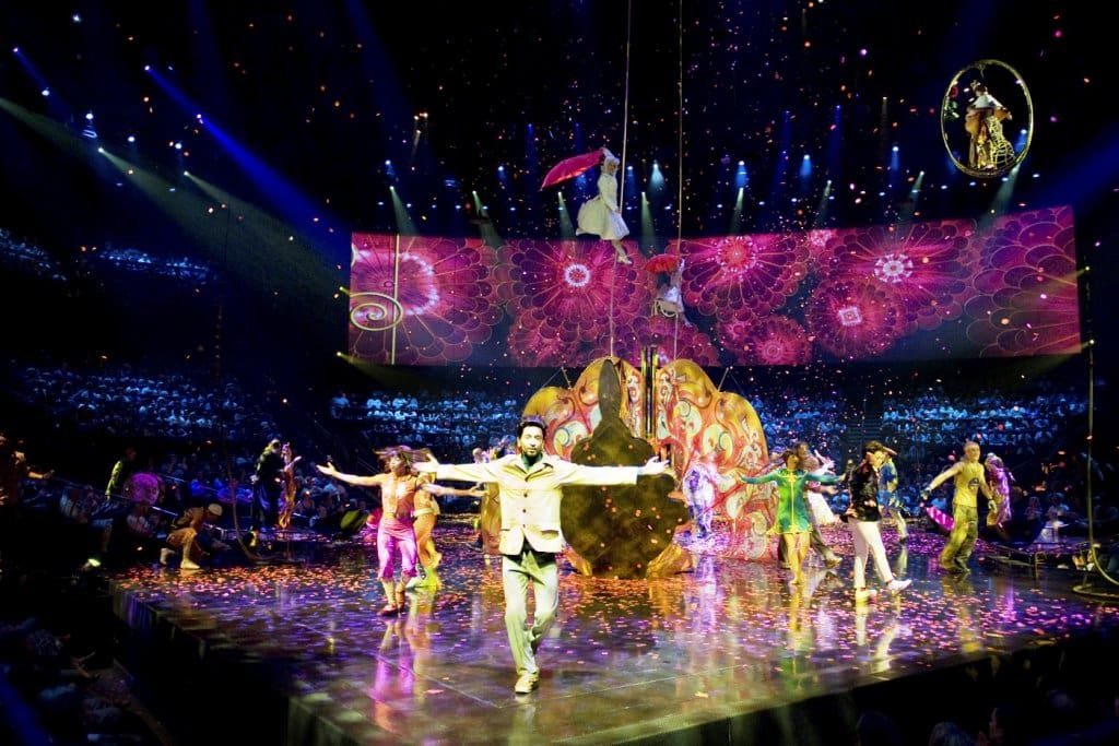 Show Love Beatles do Cirque du Soleil em Las Vegas