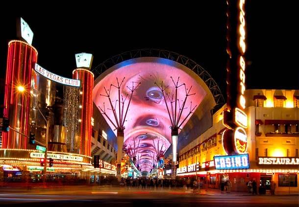 Fremont Street x Las Vegas Strip