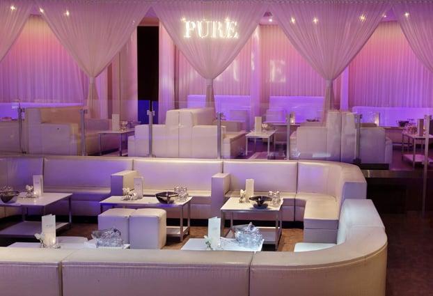 Balada PURE Nightclub em Las Vegas
