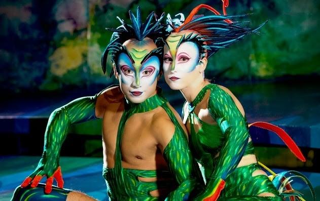 Mystére do Cirque du Soleil em Las Vegas