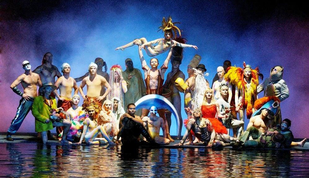 """Cirque du Soleil """"O"""" no Hotel Bellagio em Las Vegas"""