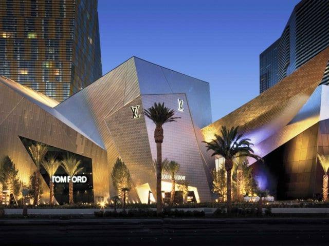 Shopping Crystals City Center em Las Vegas