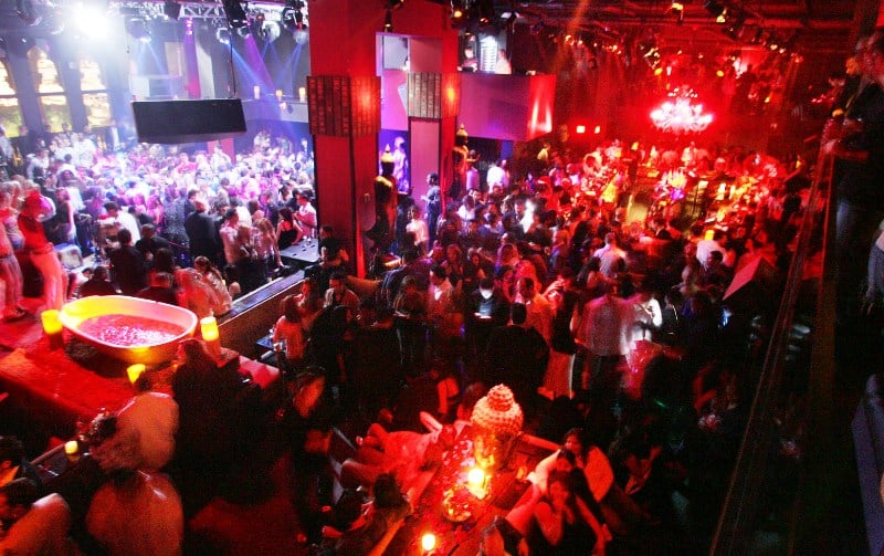 Balada TAO Nightclub em Las Vegas