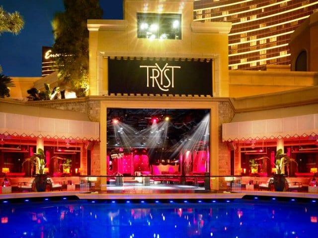 Balada Tryst Nightclub em Las Vegas