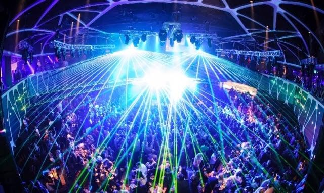Balada Hakkasan Nightclub no Hotel MGM Grand em Las Vegas