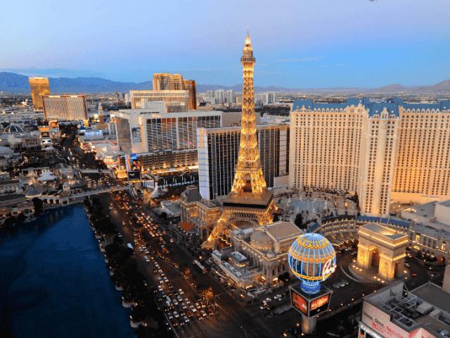 Como são os hotéis cassinos em Las Vegas