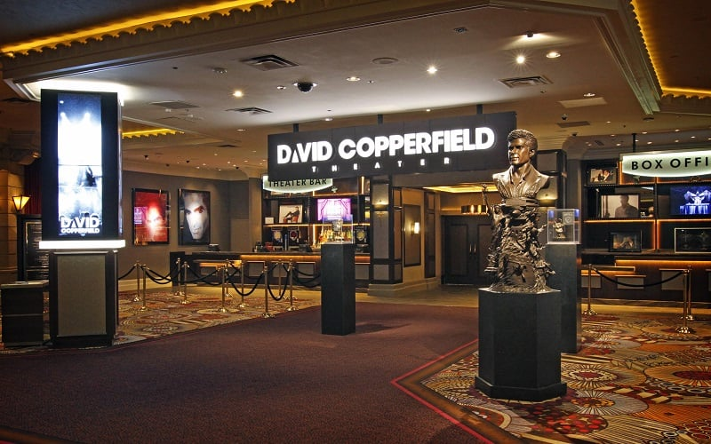 Como é o show de David Copperfield em Las Vegas