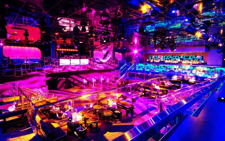Balada The Bank Nightclub no Hotel Bellagio em Las Vegas