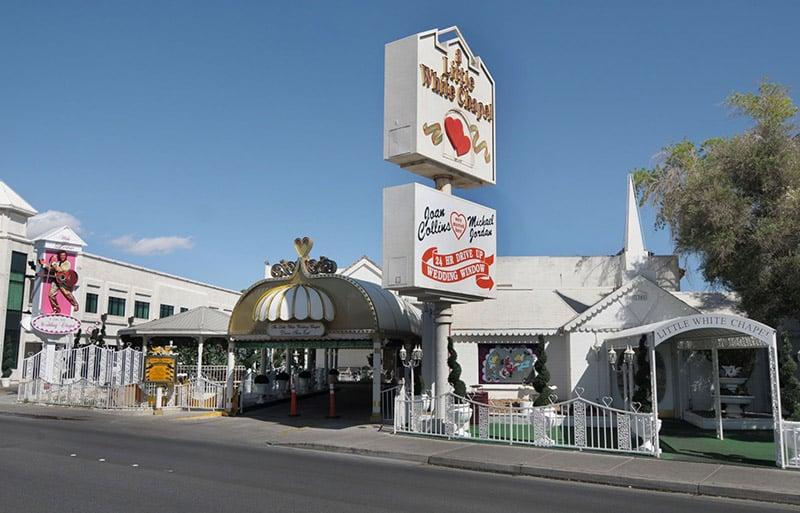 Igreja Little White Wedding Chapel em Las Vegas