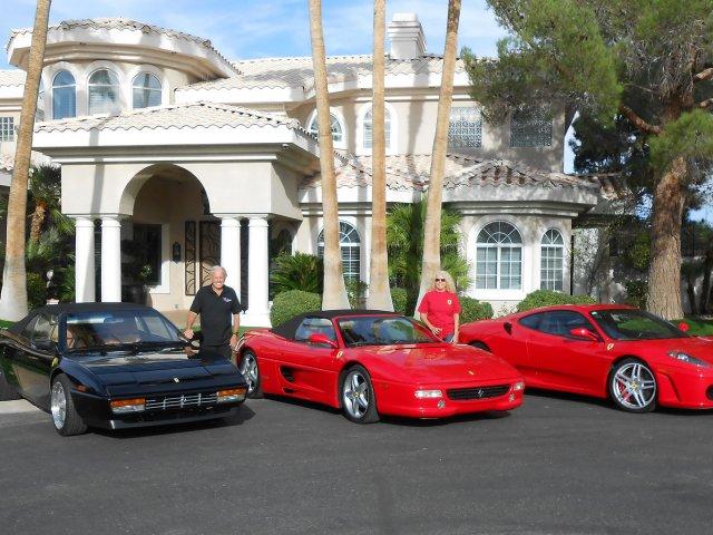Loja da Ferrari no Hotel Wynn em Las Vegas