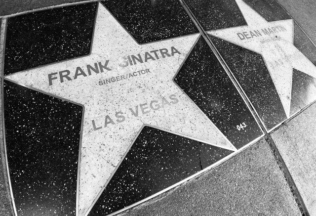 Calçada da Fama Walk Of Stars em Las Vegas