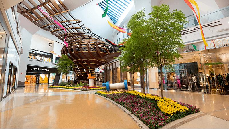 Atrações no shopping Crystals City Center em Las Vegas