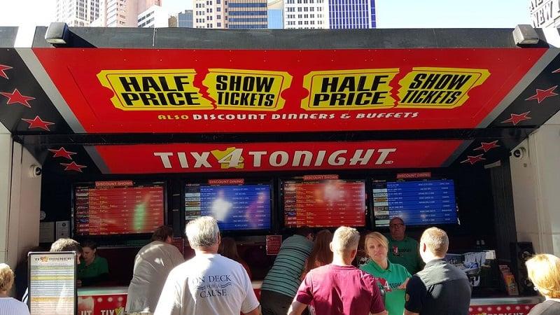 Como funciona a Tix4Tonight em Las Vegas