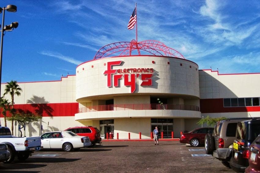 Loja de eletrônicos Fry's em Las Vegas