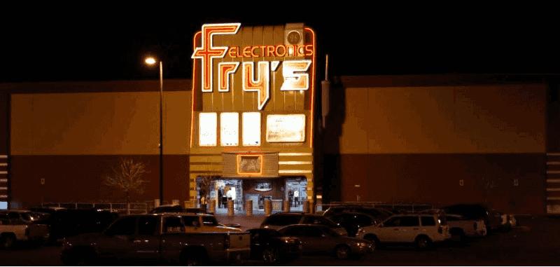 Loja Fry's em Las Vegas