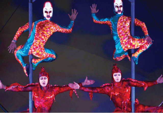 Show Mystére do Cirque Du Soleil em Las Vegas