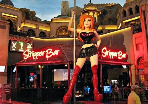 Stripper Bar Las Vegas Strip