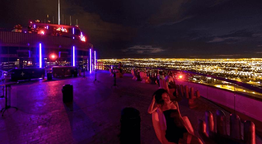 Balada VooDoo Rooftop em Las Vegas