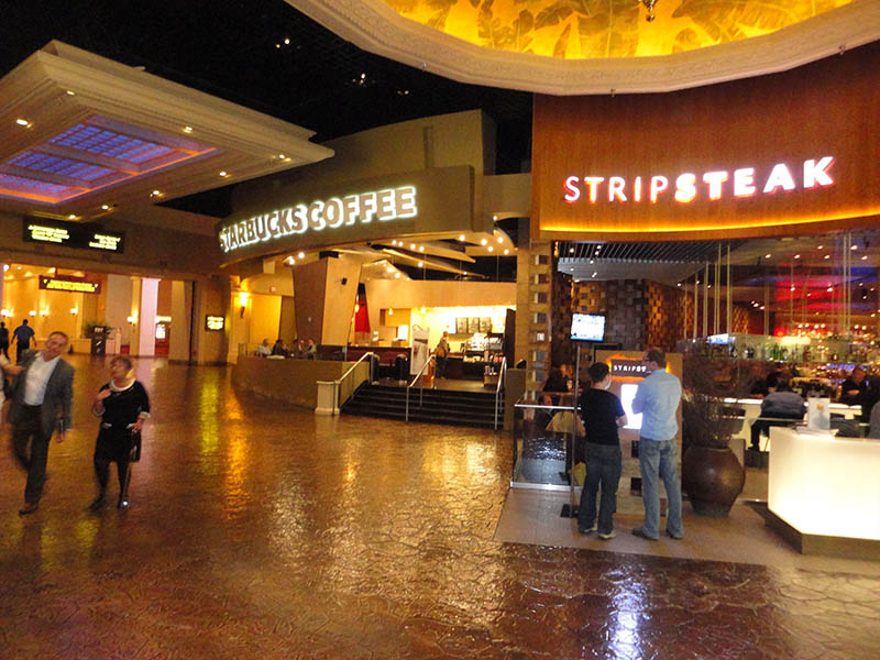 Shopping no hotel cassino Mandalay Bay em Las Vegas