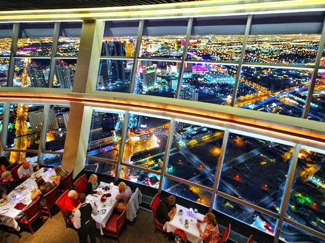 Restaurante Top Of The World no hotel Stratosphere em Las Vegas