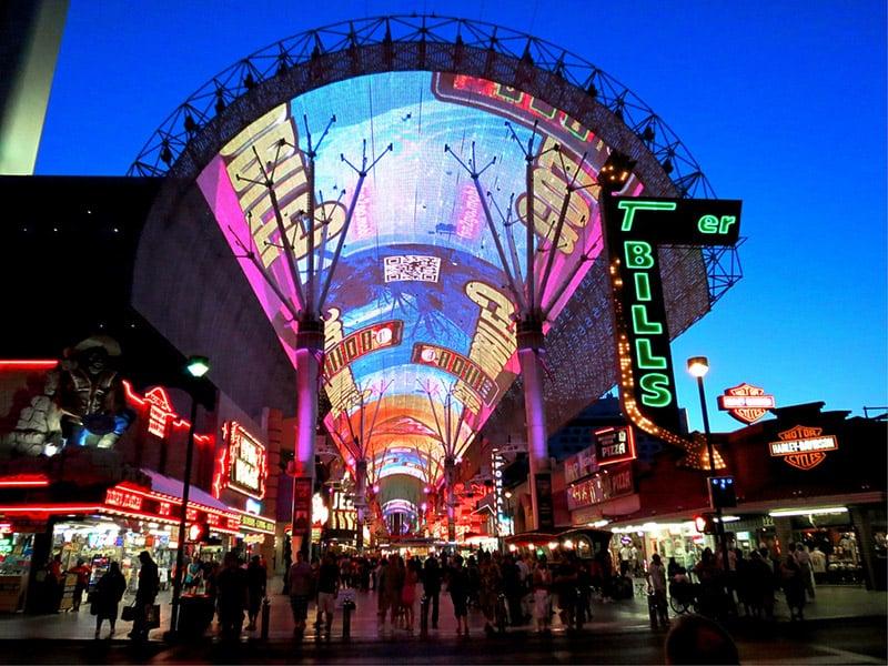 Dicas de Las Vegas: Freemont Street