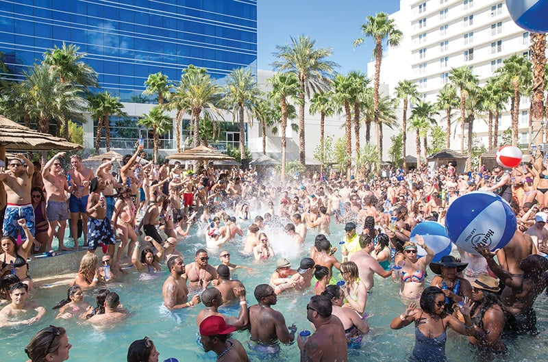 Rehab Pool Party em Las Vegas