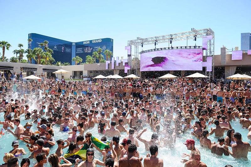 Wet Republic Pool Party em Las Vegas