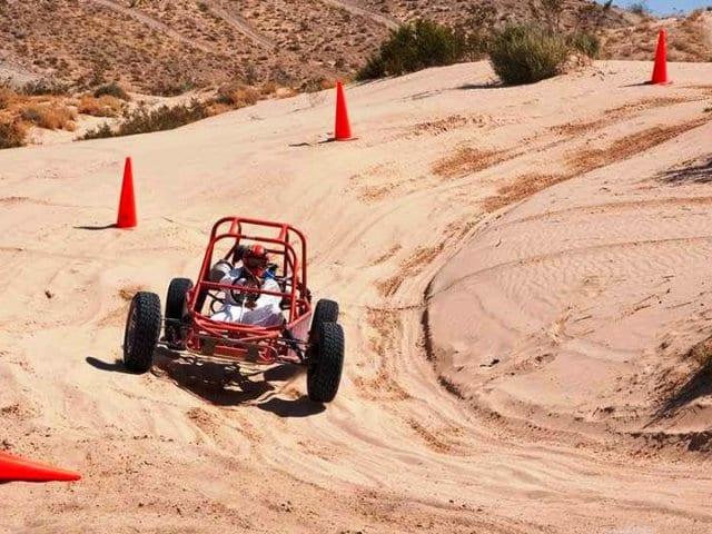 Andando de Dune Buggies em Las Vegas