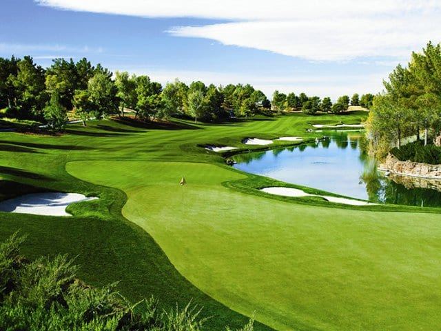 Campo de golfe Shadow Creek em Las Vegas