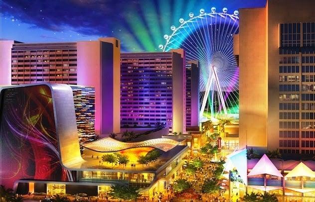 Complexo The LINQ em Las Vegas