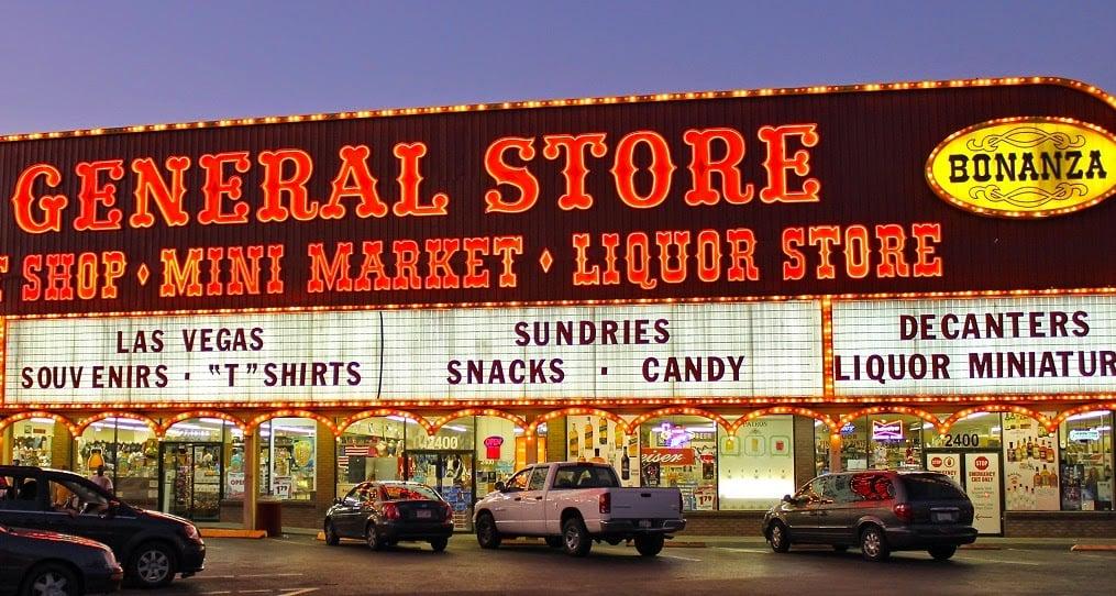 Loja presentes e souvenirs em Las Vegas