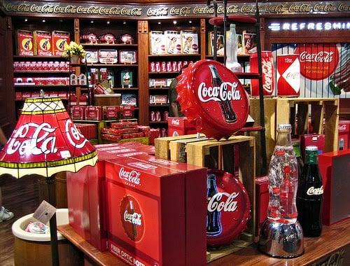 Loja Coca Cola em Las Vegas