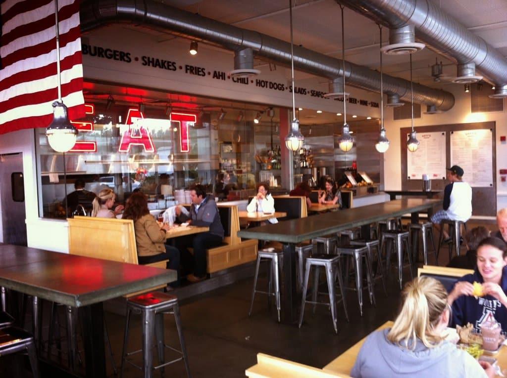 Restaurante Gotts Burger San Francisco