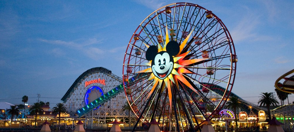Parque Disney Adventure California - Ingressos