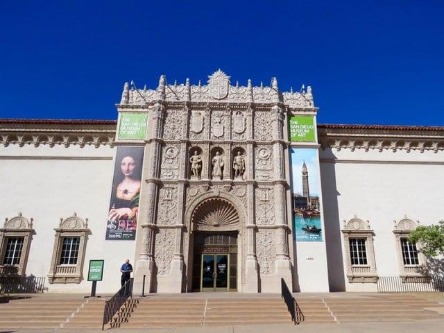 San Diego Museum of Art na Califórnia