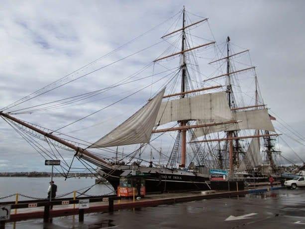 Museu Marítimo de San Diego na Califórnia