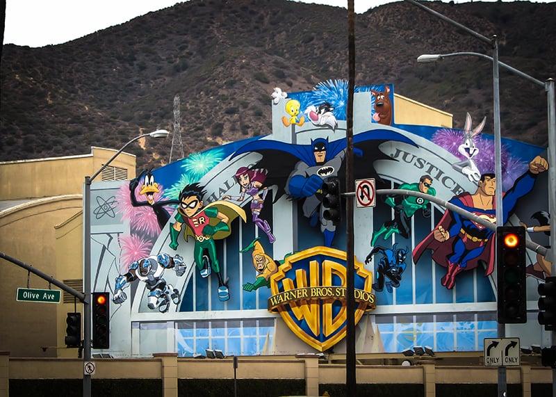 Tour pelo Estúdio Warner Bros em Los Angeles na Califórnia