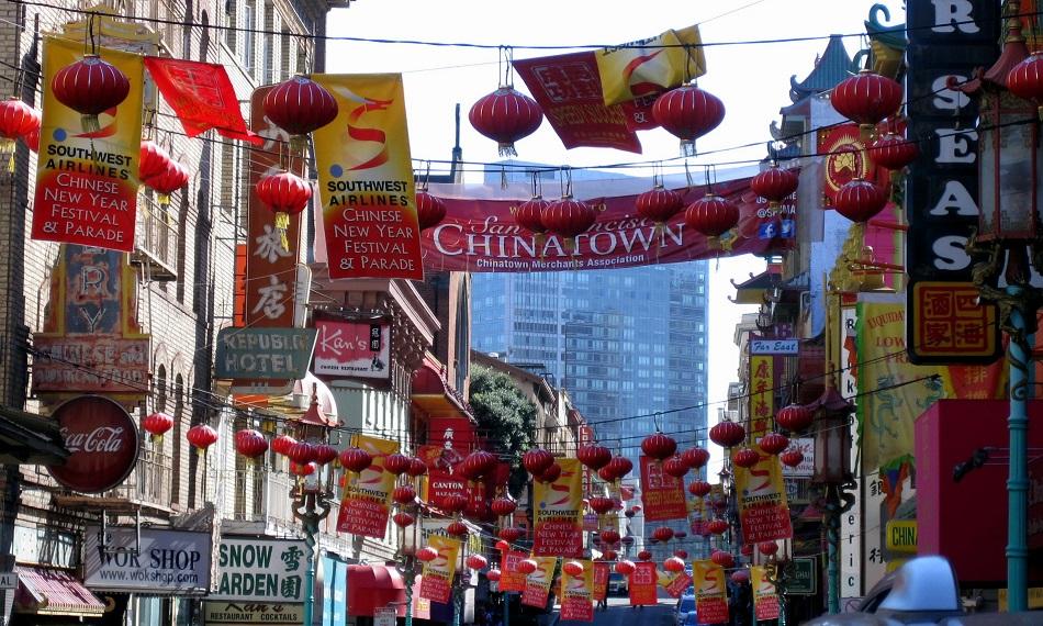 bairro Chinatown em San Francisco