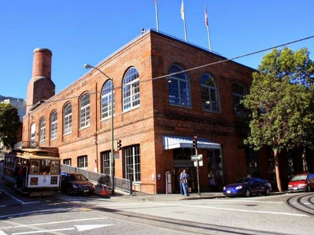 The Cable Car Museum San Francisco na Califórnia