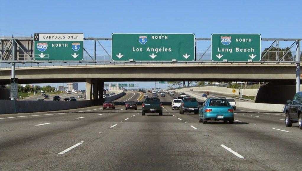 Alugar um carro em Los Angeles