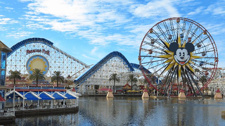 Parques temáticos em Los Angeles na Califórnia
