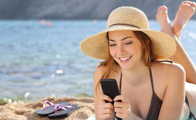 Como usar o celular à vontade em Las Vegas