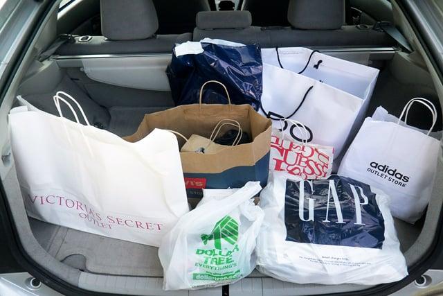 compras em Las Vegas