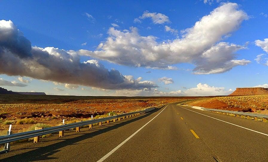 Alugar um carro em Las Vegas: Estrada