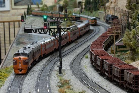 Museu Model Railroad em San Diego na Califórnia