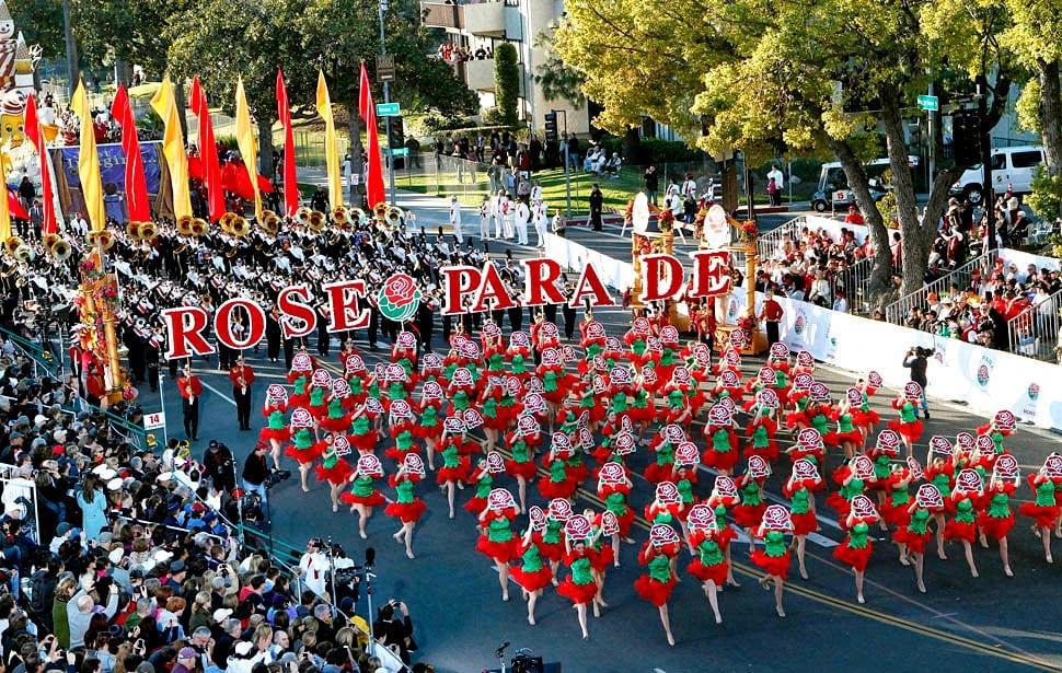 Pasadena na Califórnia Rose Parade