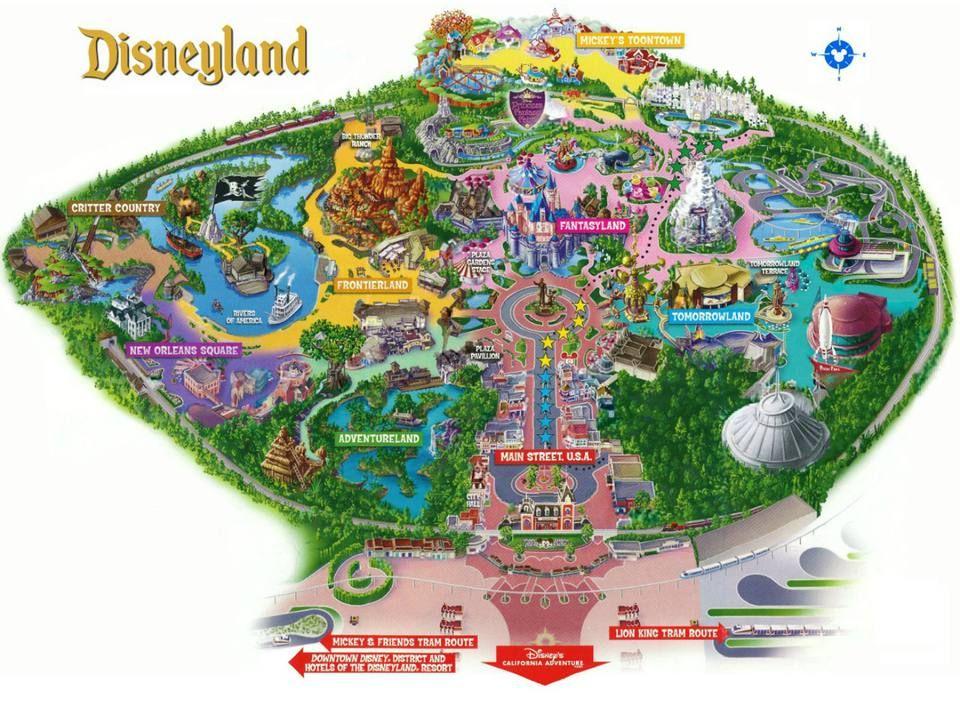 Conheça o complexo da Disney Califórnia